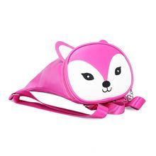 Premium Quality New Nylon Cartoon Fox Funny Cute Backpack Kindergarten Schoolbag for Toddler Baby Boys Girls