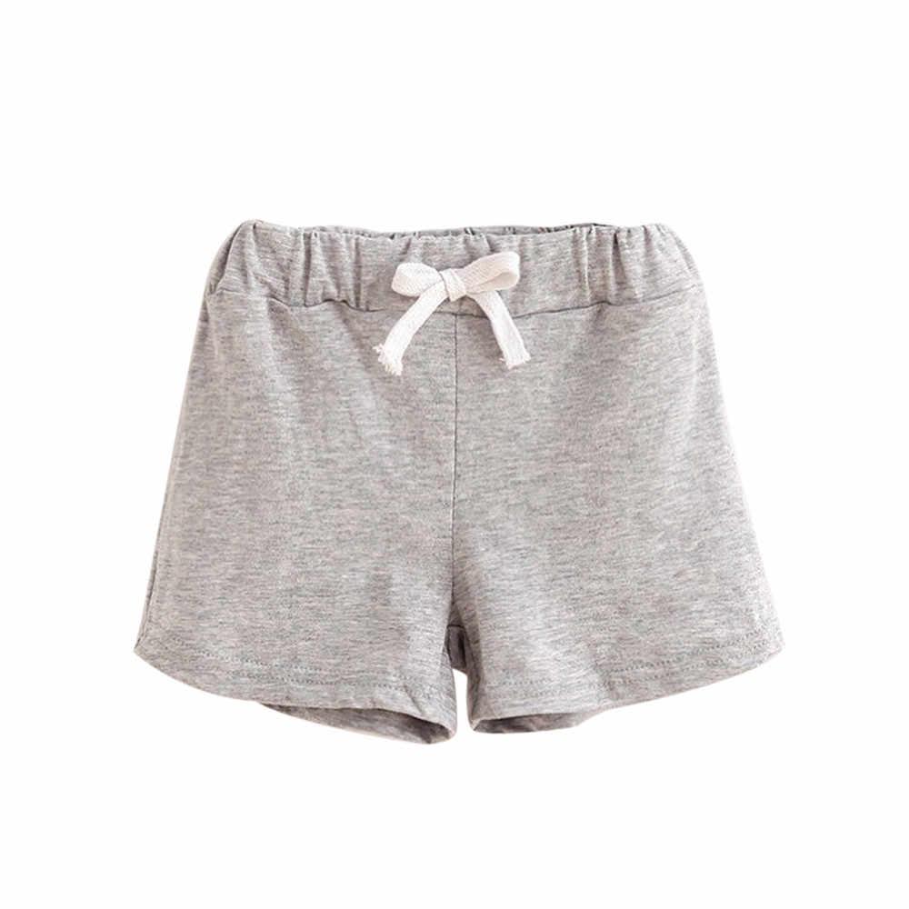 Crianças Shorts De Algodão Meninos E Meninas Roupas de verão Do Bebê Calças Moda Marca Calções Criança Calcinhas Infantis Calças Curtas Praia