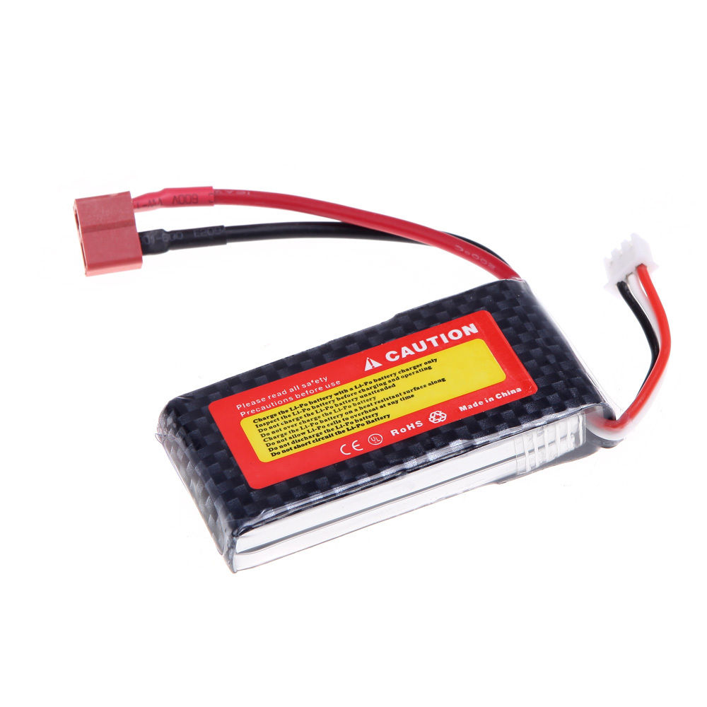 New golden lion Power 1300Mah 7.4V 25C Max 40C 2S LiPo Battery T Plug For RC Plane Helicopt image