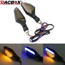 2pcs Motorcycle Signal lights Steering Motorbike Accessories LED Turn signal Daytime Lights Super Brightness Arrowhead Lamp стоимость