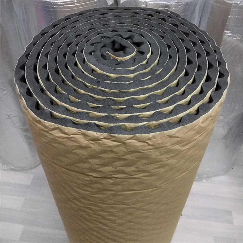 50*50 センチメートル車の断熱音響発泡マットアクセサリーサウンドオート音響卵の泡校正減衰消音マット