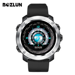 Модные мужские Смарт-часы для iPhone, Android, с монитором сердечного ритма, шагомером, дорожкой для сна, красочным экраном, двойным дисплеем для ли...