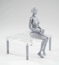 Collectible He She Ferrite Figma Movable Body Feminino Kun Body Chan PVC Action Figure Model Toy Anime Archetype Doll Boxed цена