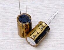 30PCS new Japanese original nichicon electrolytic capacitor audio FW 2200U/35V free shipping