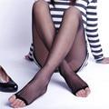 Чулки 18-21 мм Рт. Ст. СЖАТИЯ КОЛЕНО ВЫСОКИЕ Открытым Носком Женщины Сексуальная Чулки
