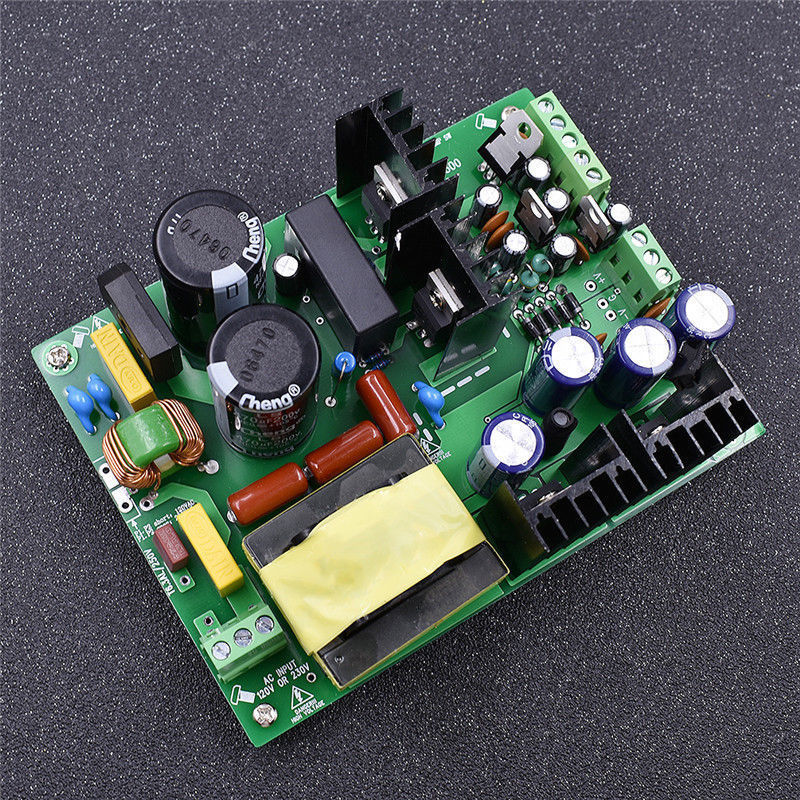 110V 500W Output  +/  30V/35V/37V/40V/45V/50V/65V/55V DC  High power PSU Audio Amp Switching Power Supply Board Amplifier-in Amplifier from Consumer Electronics    1