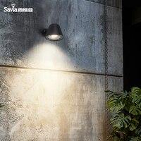 Наружная настенная лампа  водонепроницаемая  IP44  светильник для крыльца  алюминиевый садовый светильник для балкона  GU10  сертификат CE