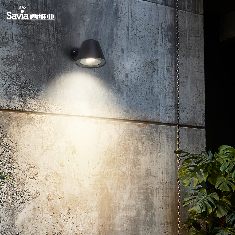 Outdoor Wall Lamp Waterproof IP44 Porch Light Aluminum Garden Balcony Light GU10 CE Certificate
