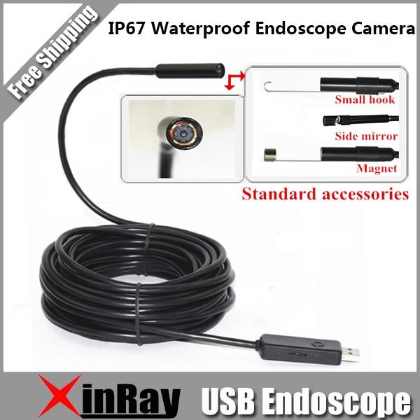 bilder für Neue Kommende 6LED 5,5 MM Dia Mini USB Endoskop Kamera IC5B Unterstützung Windows PC und Android Telefon IP67 Wasserdicht Inspektion kamera