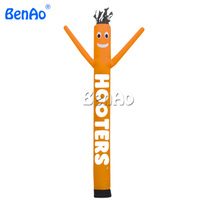 AD41 BENAO Top selling yellow single leg air puppet dancing balloon inflatable sky dancer
