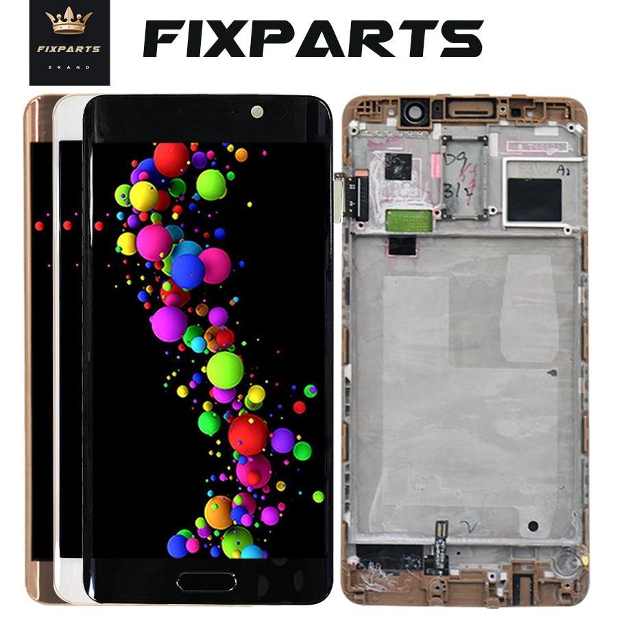 Huawei Compagnon 9 Pro Mate9 Pro écran lcd numériseur à écran tactile Avec Cadre Remplacement Noir 100% Testé work5.5