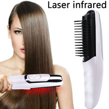 2019 Drop Shpping ABS Infrared Laser Hair Comb Relax Effective Beauty Health Treatment Instrument Massage for Multipurpose