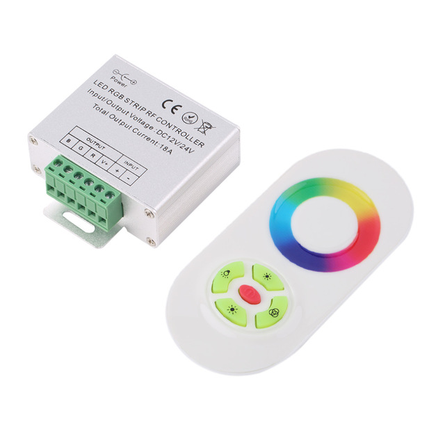 Dc12 24v wireless rf smd rgb led strip light touch dimmer remotely dc12 24v wireless rf smd rgb led strip light touch dimmer remotely controllerstrips mozeypictures Image collections