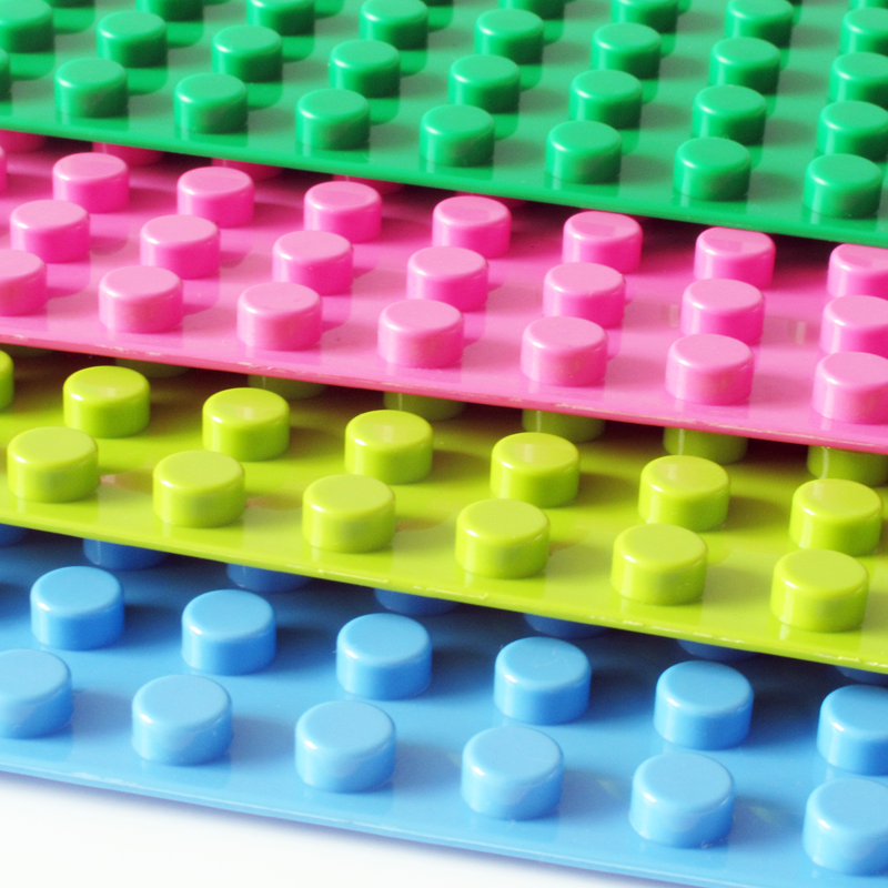 1PCS 16*32 Dots Big Baseplate Building Block Diy Bricks Toy 512 Particles Base Plate Exlarge 51 * 25 cm Solid Toys Duplo Gift 32 32 dots plastic bricks the island straight crossroad curve green meadow road plate building blocks parts bricks toys diy
