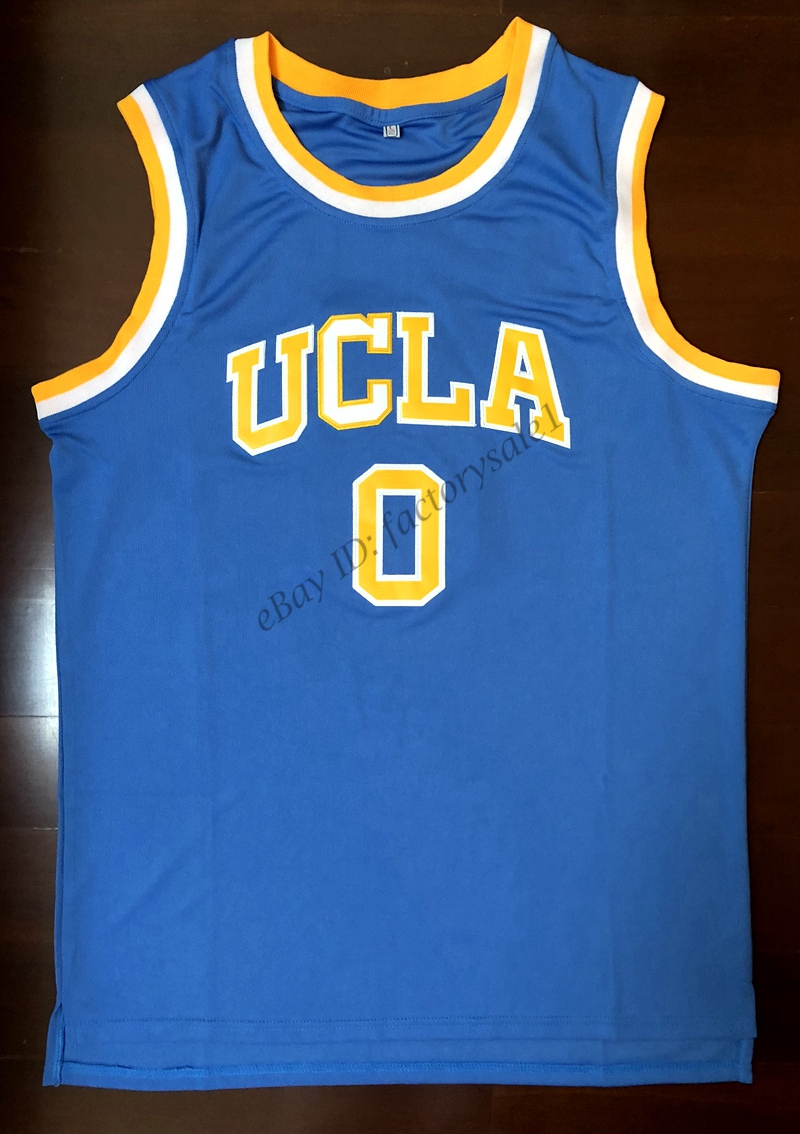 cheap for discount bfb90 12faa EJ Russell Westbrook #0 UCLA Bruins College Basketball Jersey Blue-in  Basketball Jerseys from Sports & Entertainment on Aliexpress.com | Alibaba  Group