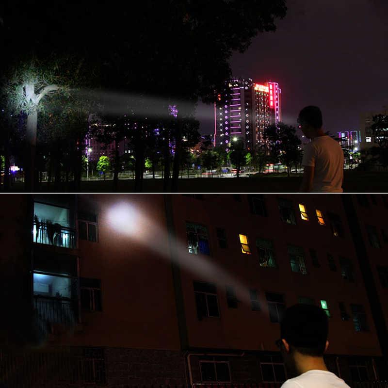 مصباح LED صغير مصلحة الارصاد الجوية المصباح 1000mAh مصباح أمامي قابل لإعادة الشحن المحمولة المشي لمسافات طويلة رئيس مصباح يدوي الشعلة التخييم مصباح الصيد 2 طرق