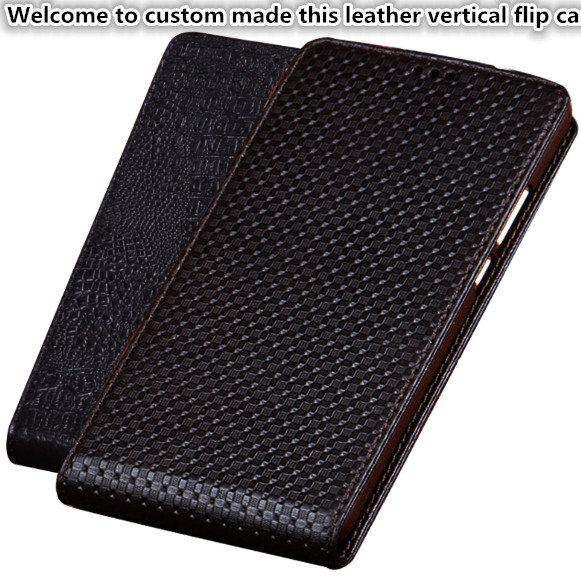 CH06 Genuine Leather Vertical Flip Case For Huawei P20(5.8′) Phone Case For Huawei P20 Up and Down Flip Cover Free Shipping