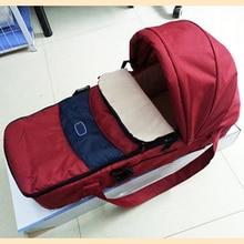 цена на Portable Infant Bed Comfortable Newborn Travel Crib Infant Bassinet