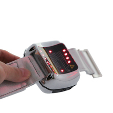 650 nm wrist laser watch LLLT high blood pressure control soft therapy device