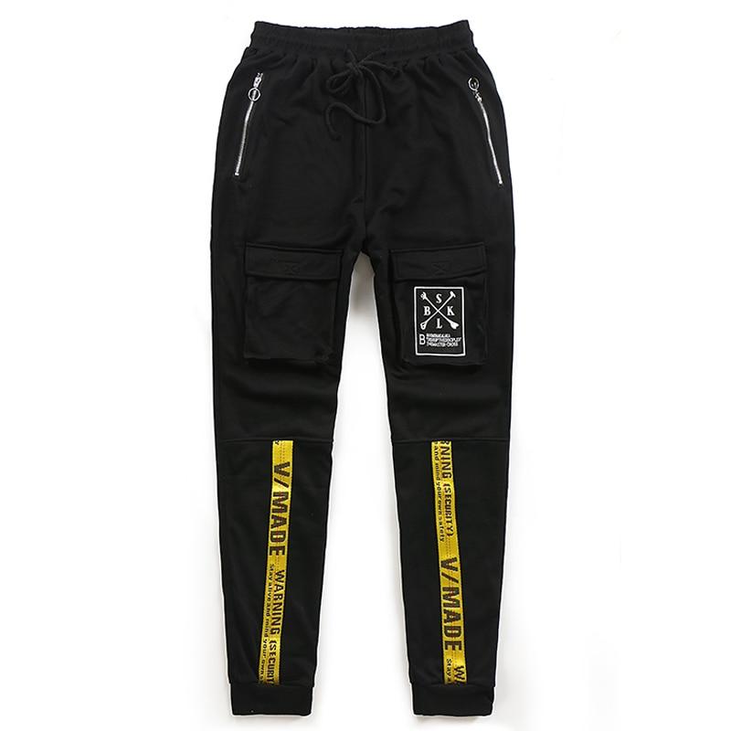 PLUS SIZE 8XL 7XL 6XL 5XL 4XL Men Casual Pants Striped Hiphop Harem Sweatpants Trousers Joggers Elastic Waist Pants Plus