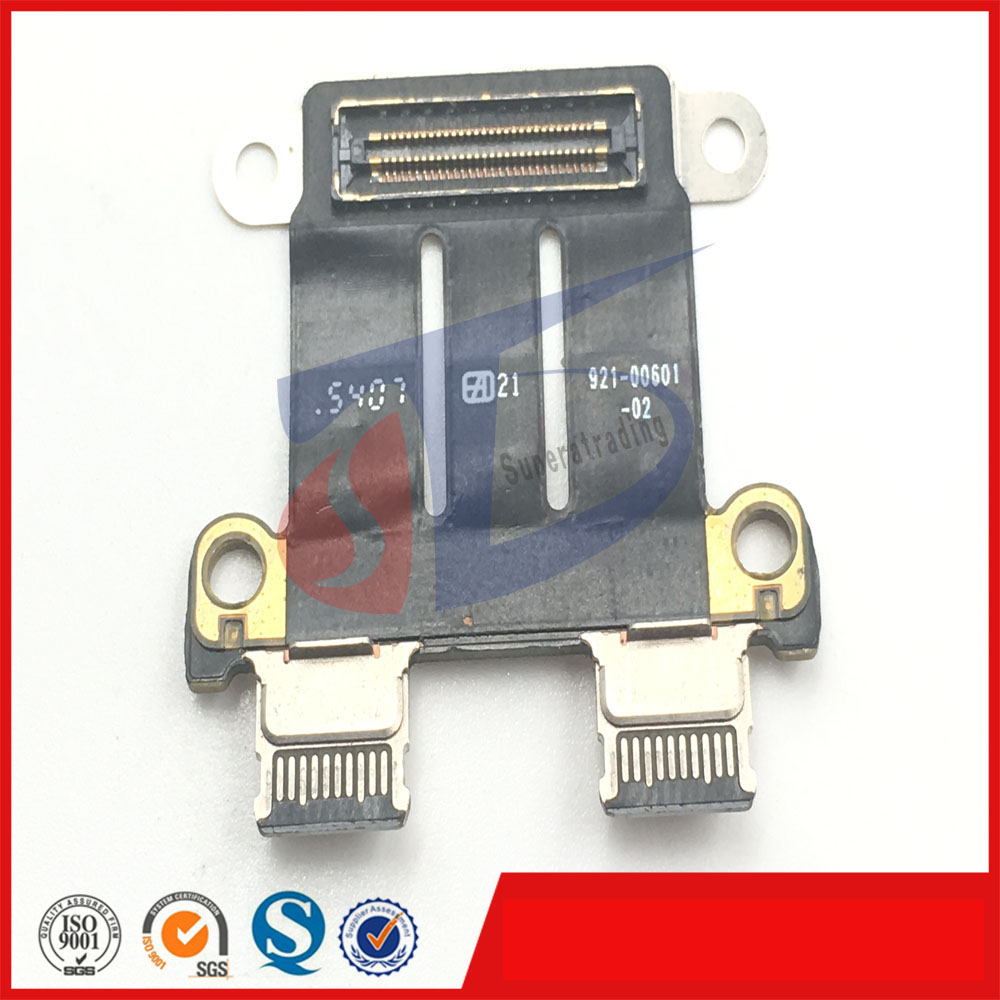 used original for macbook pro 13.3'' inch A1706 A1708 DC jack in board late2016year original a1706 a1708 lcd back cover for macbook pro13 2016 a1706 a1708 laptop replacement