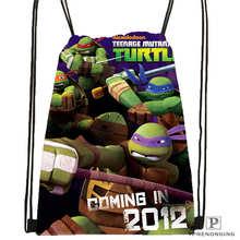 Custom mutant ninja turtles Drawstring Backpack Bag Cute Daypack Kids Satchel Black Back 31x40cm 2018611 25
