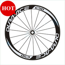 C50 700C Rim Clincher Bicycle Rims Sticker 30/40/50Mm Decal Road Bike Wheelset Reflective Stickers Fixed Gear Wheel Accessories