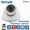 SONY IMX323 2.0MP CCTV camera surveillance ONVIF 2.4 1080p ip camera Security 3MP HD Lens  H.264 IR-CUT P2P Android / IOS