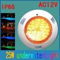 Подводная подсветка для бассейна Светодиодная лампа для бассейна 350 LED 25W 12V светодиодная подводная лампа с пультом дистанционного управлен...