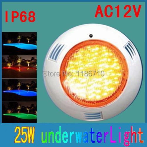Прожектор Piscina СИД Бассейны Light 350 LED 25 Вт 12 В подводный светодиодный светильник с Дистанционное управление пятна Бесплатная доставка