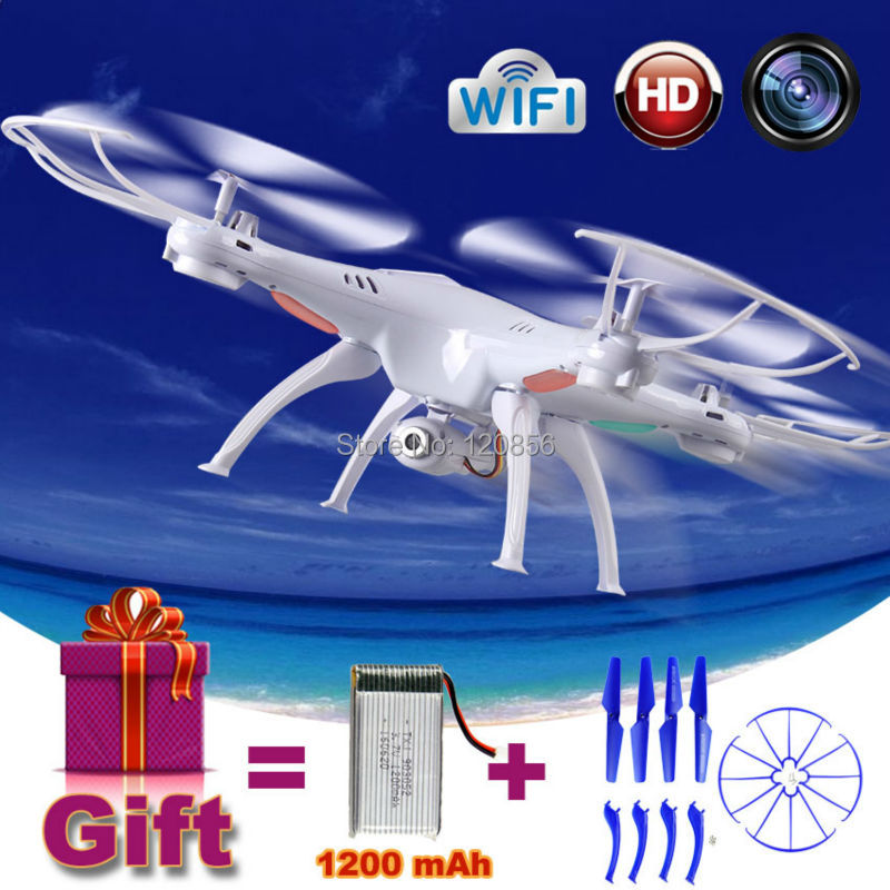 2.4G Syma X5SW RC drone quadcopter with HD WIFI FPV camera helicopter Remote control toy Gift 1200 mAh upgrade Battery VS X5HW rc drone u818a updated version dron jjrc u819a remote control helicopter quadcopter 6 axis gyro wifi fpv hd camera vs x400 x5sw