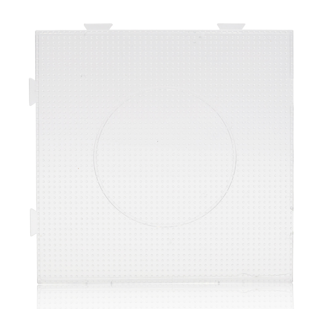 3mm Square Pegboard For Artkal M-3mm Beads Plastic Jigsaw Puzzle Toys For Pixel Arts