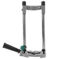 Precision Drill Guide Pipe Drill Holder Stand Drilling Guide Bracket With Adjustable Angle And Removable Handle