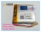 Liter degree energy M6 battery MP4 MP3 small speaker 3.7V polymer lithium battery 304040 440mAh