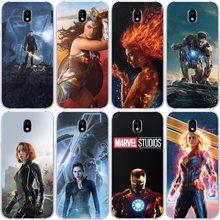 Miracle Case For Samsung Galaxy A30 A50 A10 A20 A40 A70 M10 M20 Superhero Iron Man Captain America Black Widow Spiderman Cover luxury venom marvel deadpool pattern for samsung galaxy a10 a20 a30 a40 a50 a70 m10 m20 phone case cover coque etui capinha capa