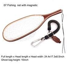 Рыболовная сеть для ловли нахлыстом aventik Резиновая сетка