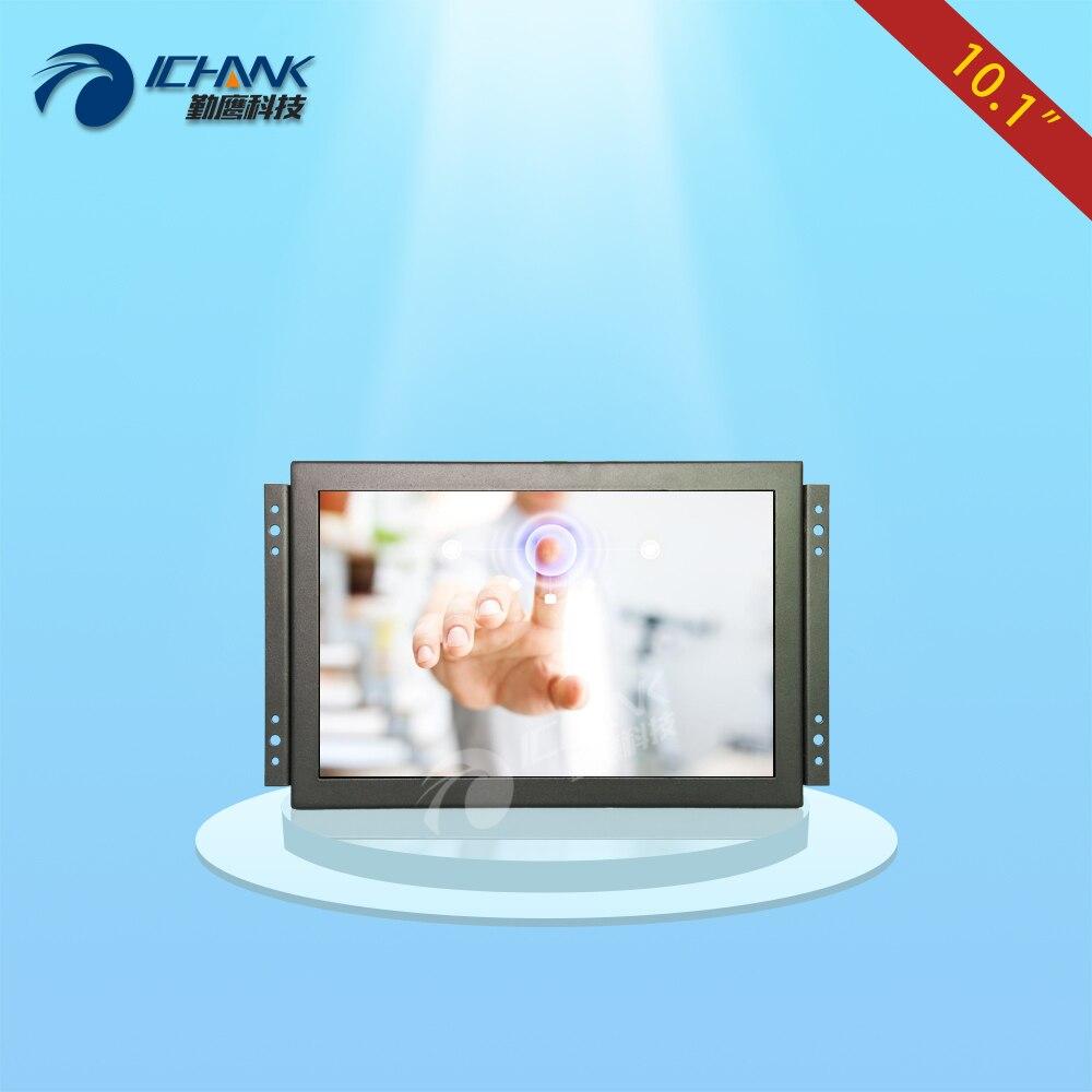ZK101TC-V56H/10.1 pouce 1920x1200 IPS vue plein HDMI boîtier métallique Intégré Open cadre tactile industriel moniteur LCD écran d'affichage