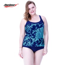 2016 Big Yards Fat Female Swimsuit Swimwear Women New Large Size Sexy Bikini