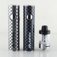 5 3 S22 60W e-cigarettes vape mod 1800mah battery with 2.5ml atomizer 0.3/ 0.5 ohm tank vape pen electronic cigarette kit (3)
