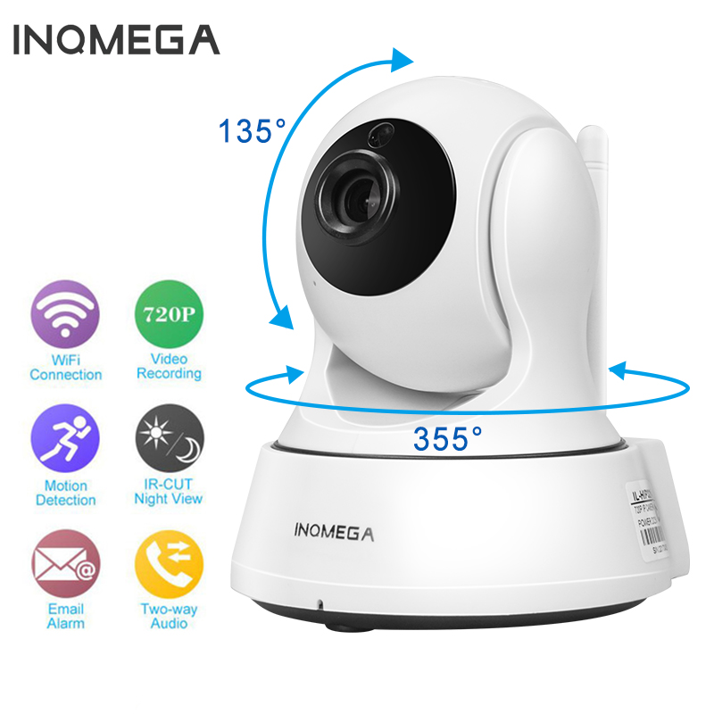 INQMEGA HD 1080P Mini WiFi Camera Wireless Home Security IP Camera With Night Vision Two Way Audio P2P Remote View Baby Monitor