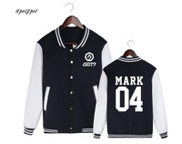 GOT7 Baseball Uniform Coat Ordinary Hpeiypei Harajuku Hoodies Kpop Tracksuit Women