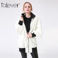 New Fashion Women S Long Cashmere Warm Jacket Ladies Long Sleeve Zipper Patchwork Gray White Jackets