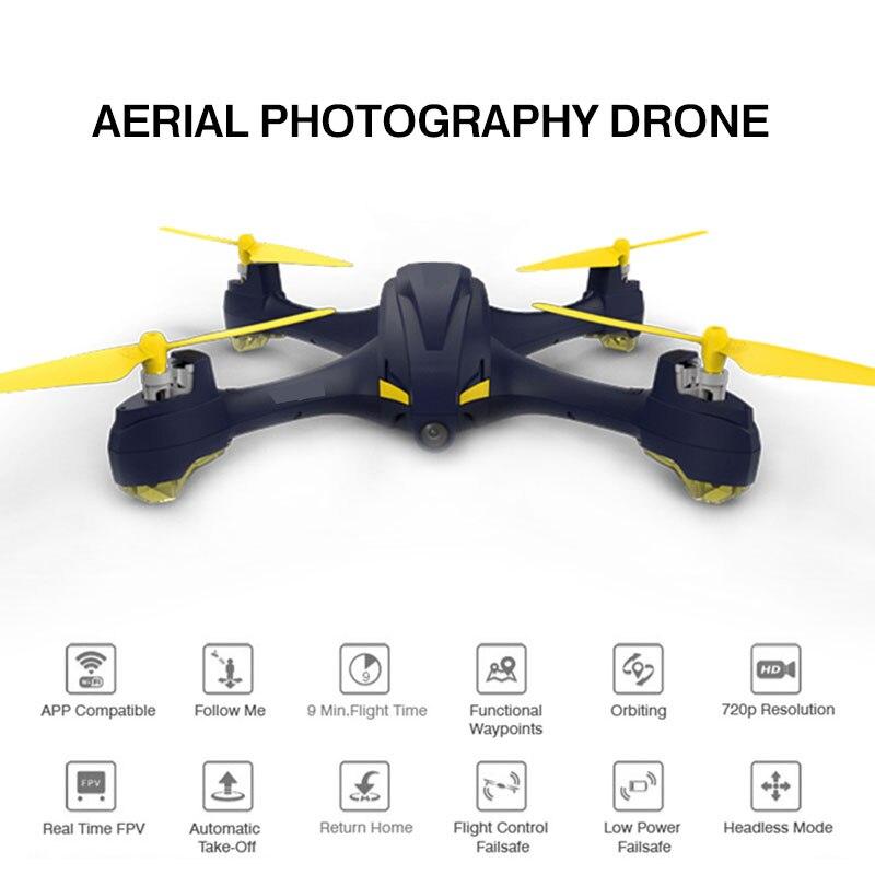Drone intelligent haute Performance Wifi FPV 720 P caméra HD 2 millions de pixels Mode d'altitude GPS suivez-moi quadrirotor de retour à une touche