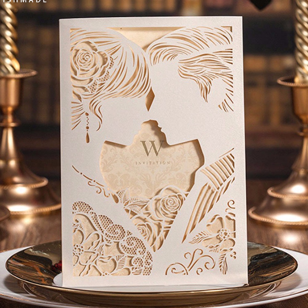 30pcs/lot 2017 NEW Vintage Wedding Supplies China Laser Cut ...