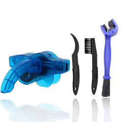 Portable Bicycle Chain Cleaner Cycling Cleaning Brushes MTB Bike Scrubber Quick Washing Kit Bikes Maintenance Tools RR7001