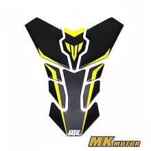 Для Yamaha MT25 MT03 MT07 MT09 MT10 FZ07 FZ09 мотоциклетные 3D бак газа Cap Pad наполнитель чехла наклейки