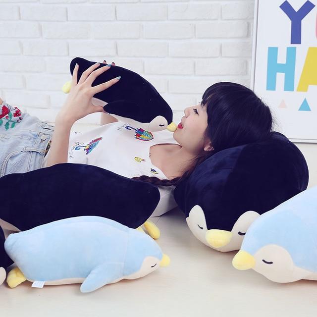35-70cm 2018 New Style Stuffed Soft comfy Plush Penguin Plush Toys animals doll Sleep pillow Cushion Christmas kids doll 2