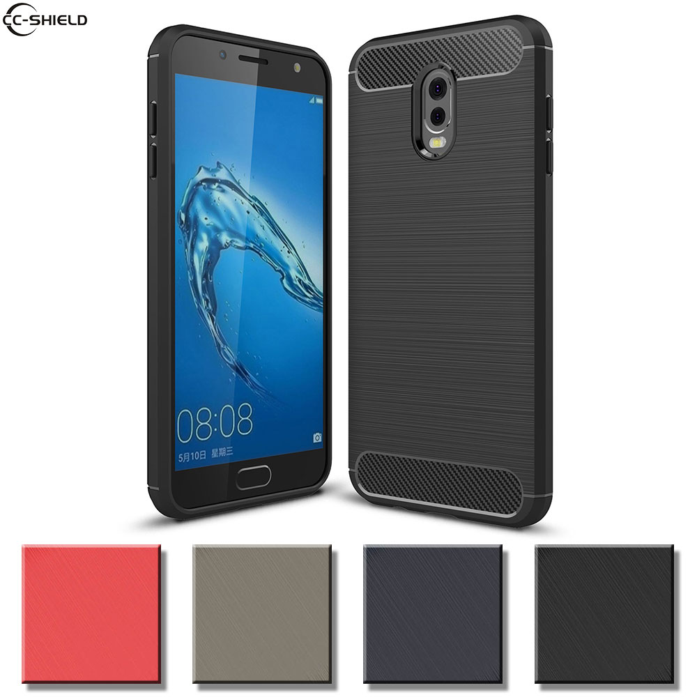 Fitted <font><b>Case</b></font> For <font><b>Samsung</b></font> <font><b>Galaxy</b></font> <font><b>J7</b></font> Plus <font><b>J7</b></font>+ SM-C710F/DS Bumper Armor <font><b>Case</b></font> Phone <font><b>Silikon</b></font> TPU Cover SM C710 C710F/DS Coque <font><b>Cases</b></font> image