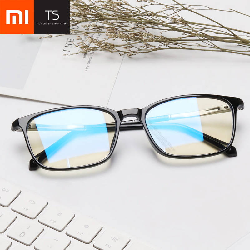 Xiaomi Mijia TS 45% Anti-blue-rays 100% UV Protective Glasses Eye Protector For Play Phone Computer Games TV Square Glasses