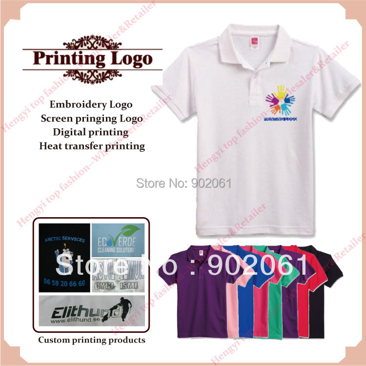 7647c9b74 custom printed T shirts silk screen digital heat transfer print t shirt  220GSM high quality Wholesale Retail printing service-in T-Shirts from  Men's ...